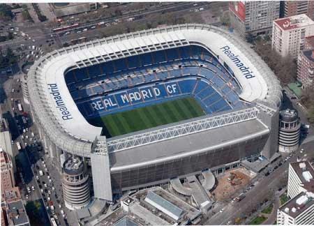 5° Santiago Bernabeu di Madrid, con una media di 69.262 spettatori