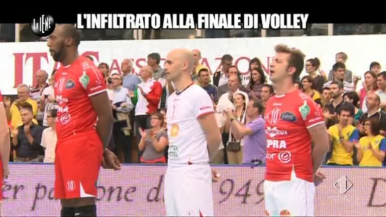 Le Iene finale volley