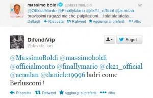 Massimo Boldi Twitter Milan