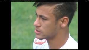 Neymar Santos lacrime