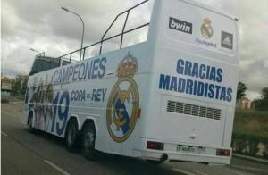 Real Madrid pullman