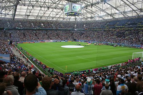 6° Veltins Arena dello Schalke 04. con una media di 61.171 spettatori