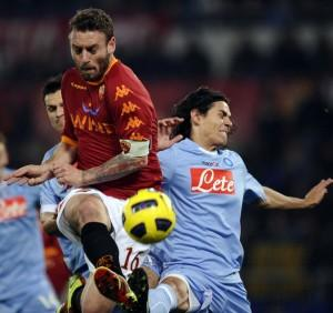 AS Roma's midfielder Daniele De Rossi  (