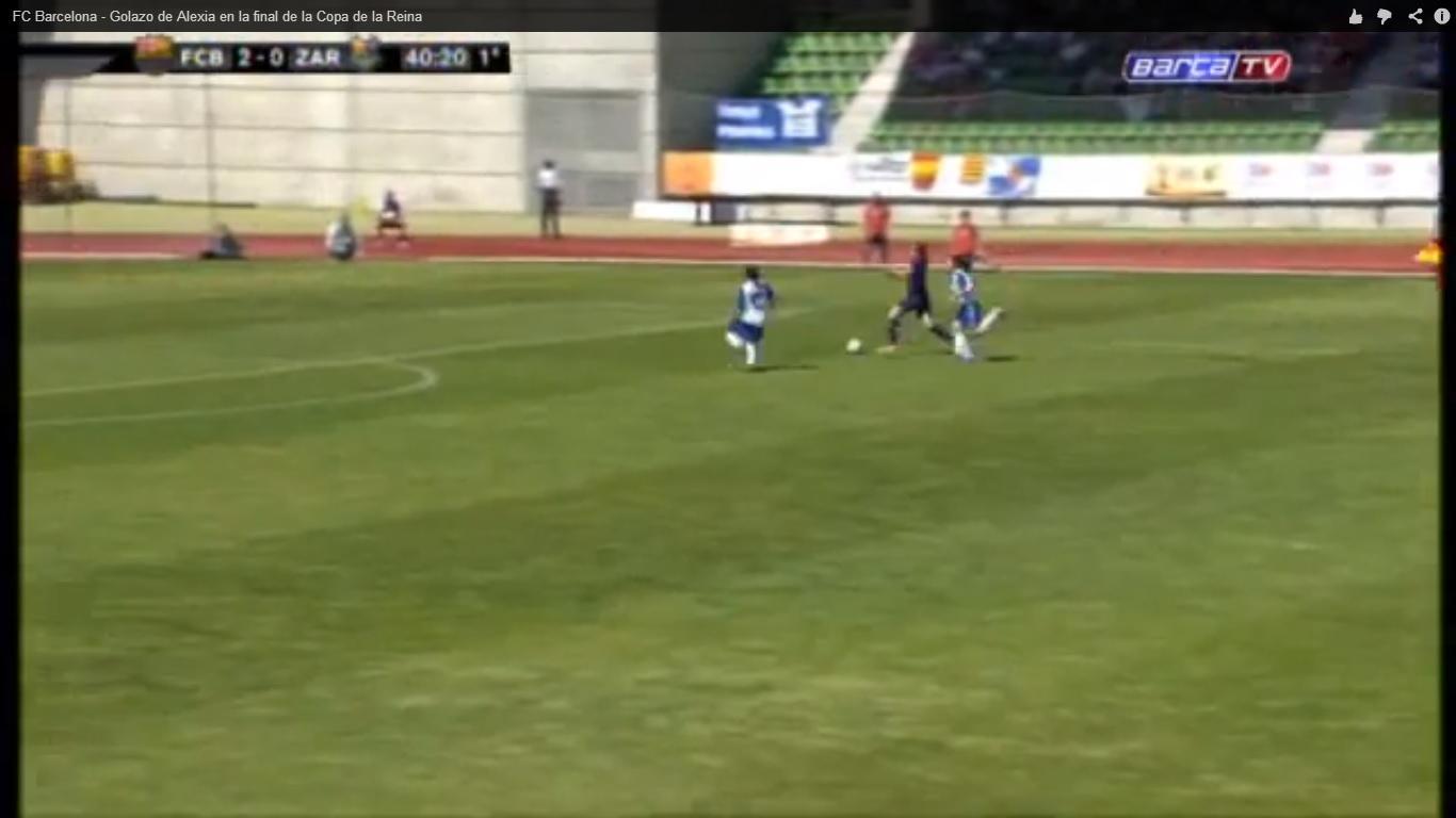 Alexia Barcellona gol
