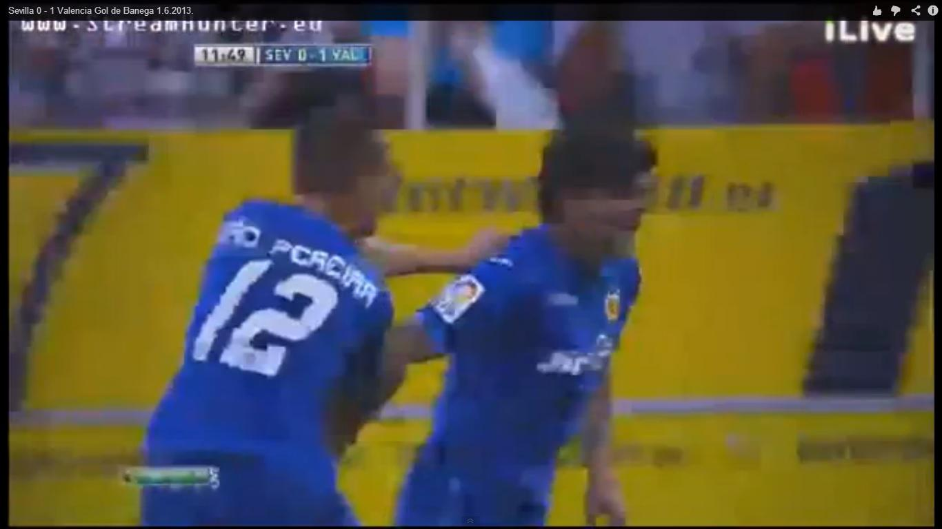 Ever Banega gol