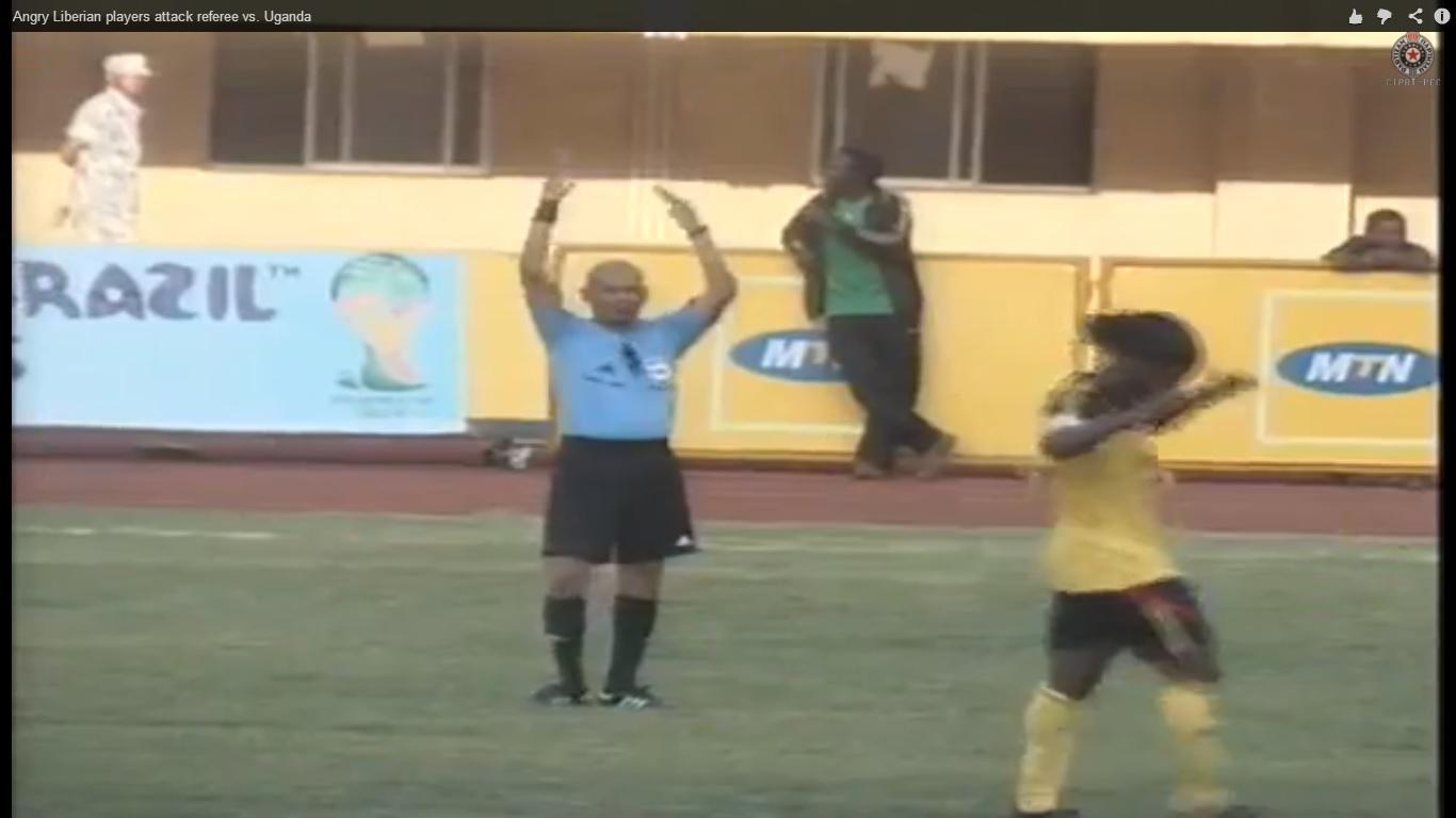 Liberia calciatori arbitro