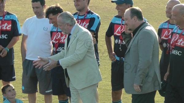 De Laurentiis e Benitez caricano la squadra: