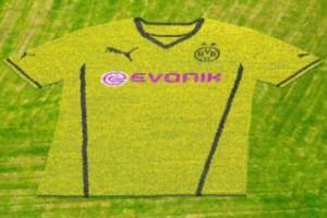 Borussia Dortmund maglia fiori