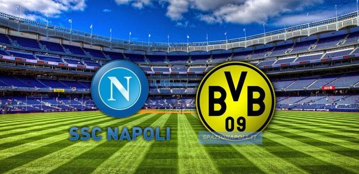 Incontro Tifosi Napoli Borussia