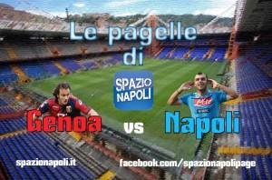 Pagelle Genoa-Napoli
