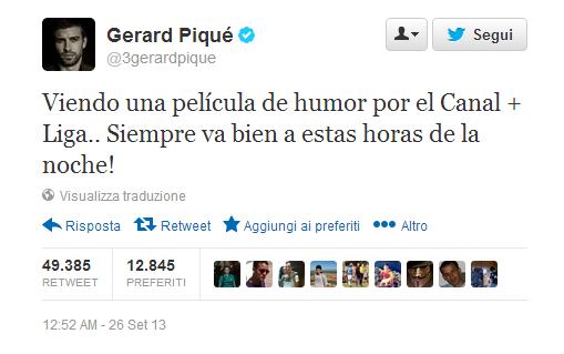 TweetPiquè