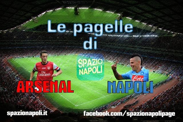 Pagelle Arsenal Napoli