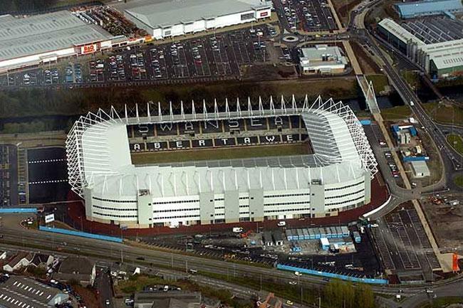 Liberty Stadium, il simbolo della solidità dello Swansea