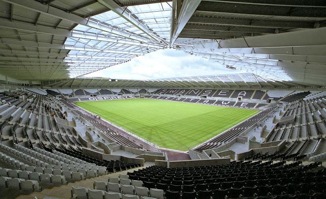 L'interno del Liberty Stadium
