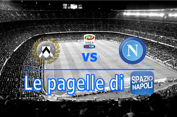 Udinese Napoli Pagella