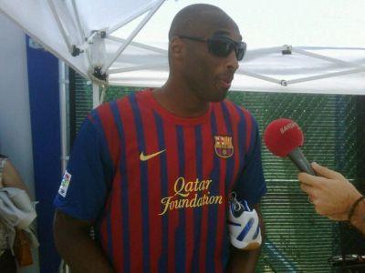 08 - Kobe Bryant tifa Barcelona