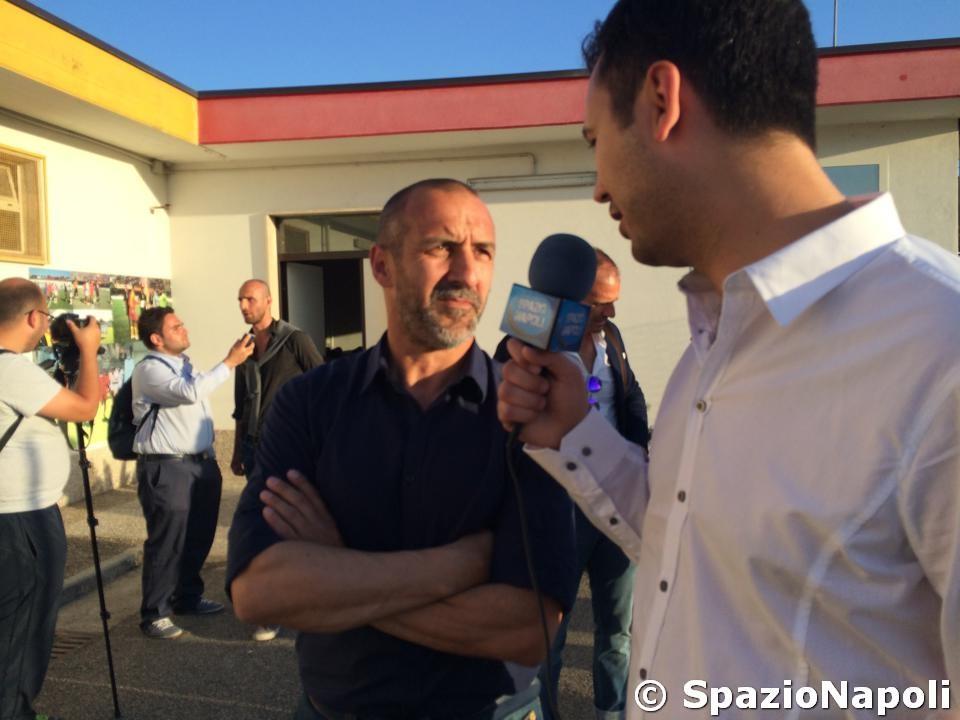 Video intervista all 39 ex capitano del napoli roberto bordin for Intervista benitez