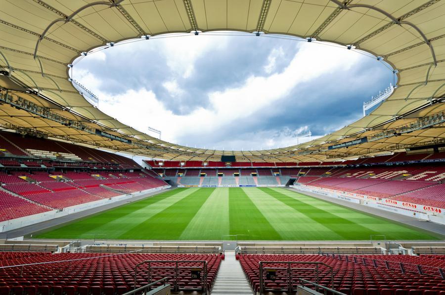 Il nuovo stadio, visto dalla curva
