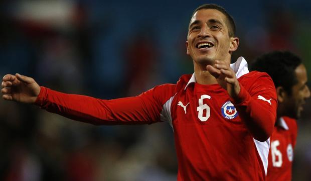 Futbol, Chile vs Egipto