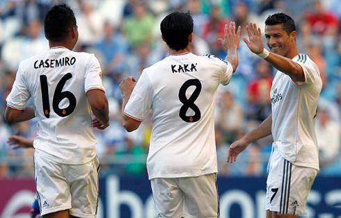 706-cristiano-ronaldo-cheering-his-brazilian-friends-at-real-madrid-kaka-and-casemiro-in-2013