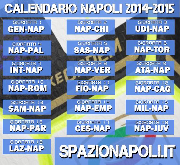 Calendario Prossime Partite Napoli.Calendario Partite Napoli
