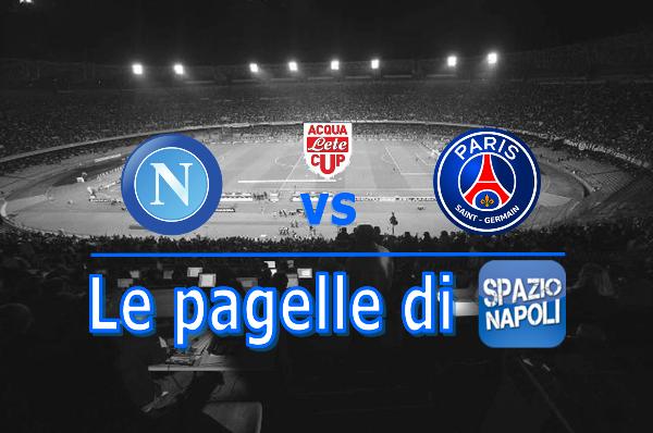 Napoli PSG Pagella