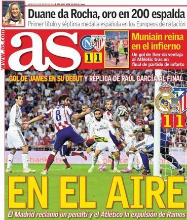 Prima pagina As Sport