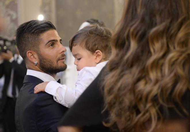 Foto Insigne E La Moglie Al Matrimonio Del Fratello Antonio