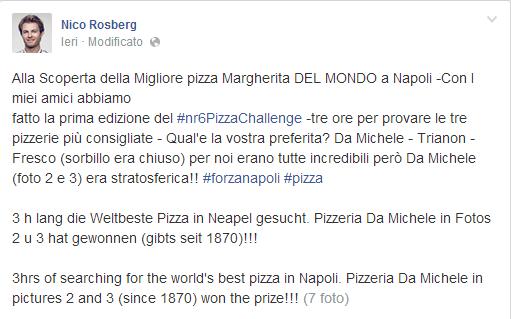 pizzeria da michele rosberg