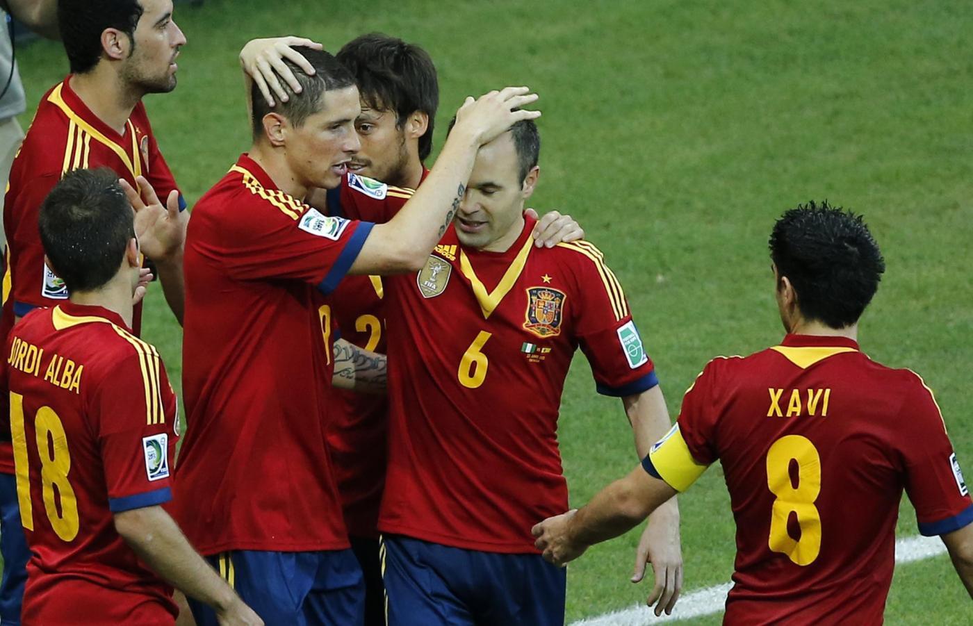 Confederations Cup - Nigeria vs. Spagna