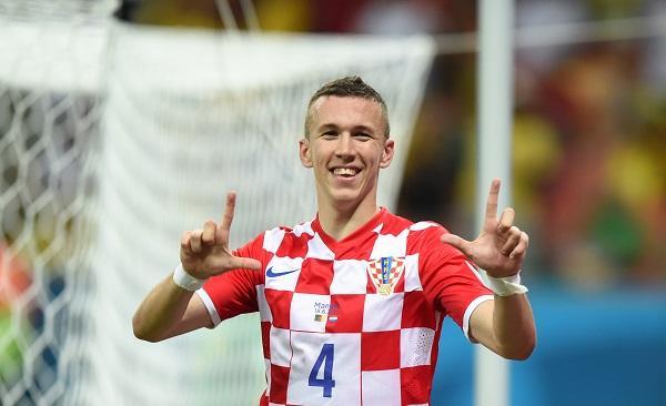 Ivan Perisic, la Croazia ha sulla fascia destra un treno; un pericolo costante per tutte le difese. Doppietta e numerosi assist per i compagni nel sonoro 6 - 0 dei biancorossi contro l'Azerbaijan.