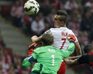 Arkadiusz Milik, l'attaccante dell'Ajax è il giustiziere della Germania e l'uomo della provvidenza contro la Scozia. Piacevole sorpresa di queste qualificazioni.