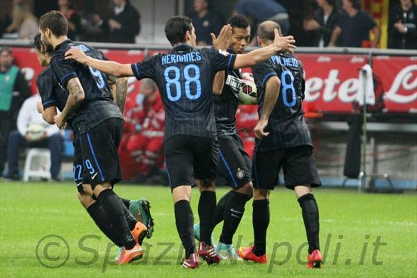 Inter-Napoli gol inter
