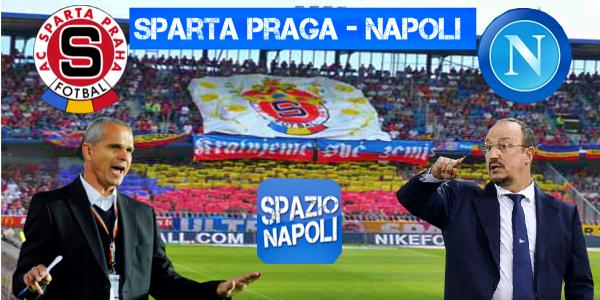Copertina Sparta Praga-Napoli