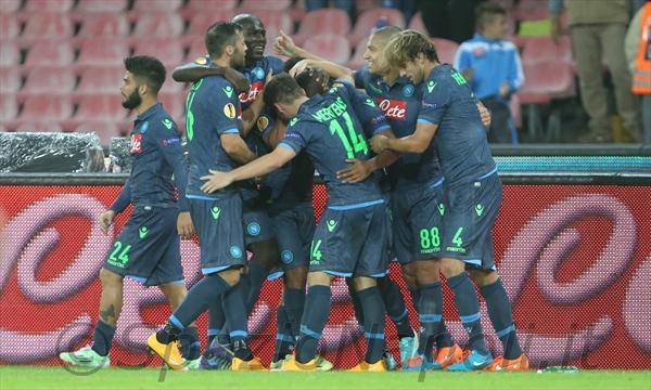 Napoli-Young Boys gol gruppo
