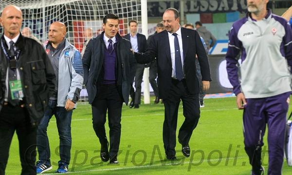 Fiorentina-Napoli benitez montella