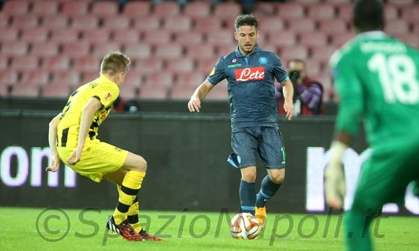 Napoli-Young Boys mertens