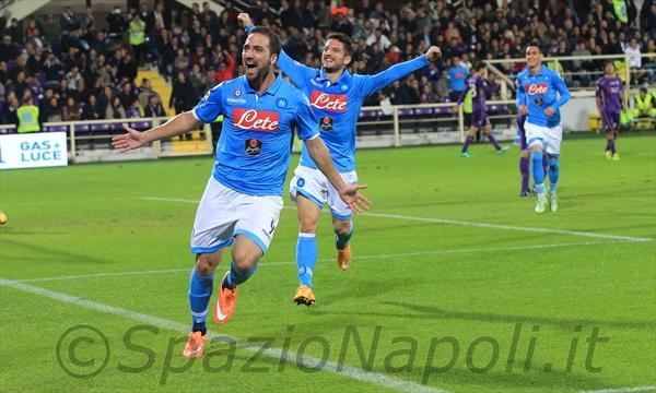 Fiorentina-Napoli higuain gol