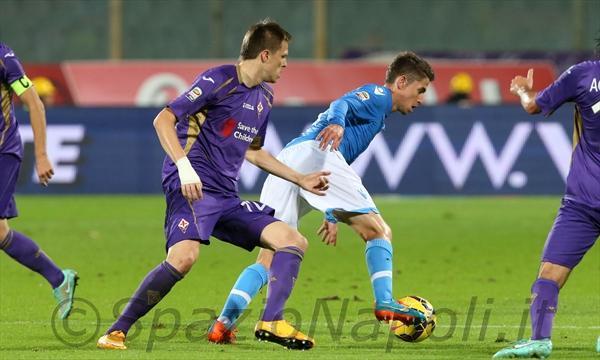 Fiorentina-Napoli jorginho