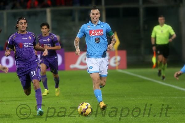 Fiorentina-Napoli hamsik
