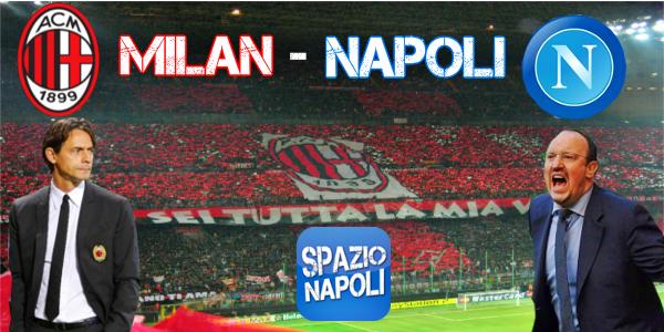 Copertina Milan-Napoli