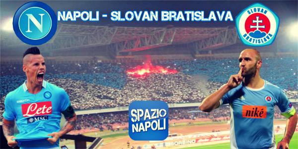 Copertina Napoli - Slovan Bratislava