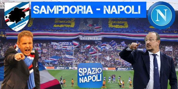Copertina Sampdoria-Napoli