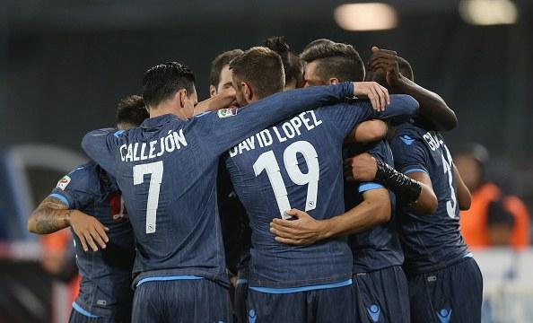 16° - Napoli: 164,8 milioni di euro