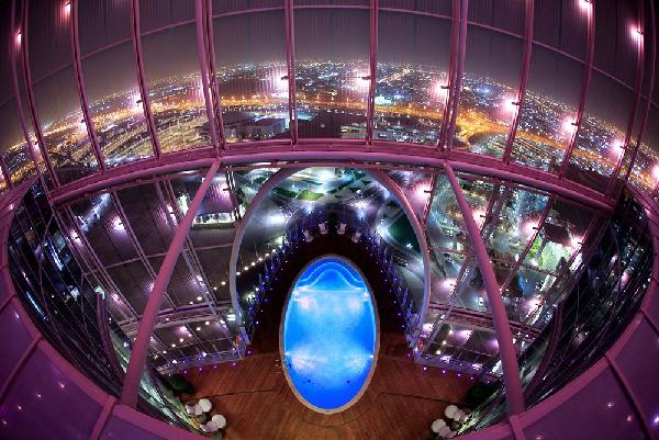 Hotel Torch di Doha, dove alloggerà il Napoli