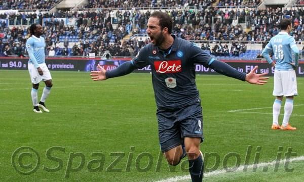Higuain Lazio Napoli