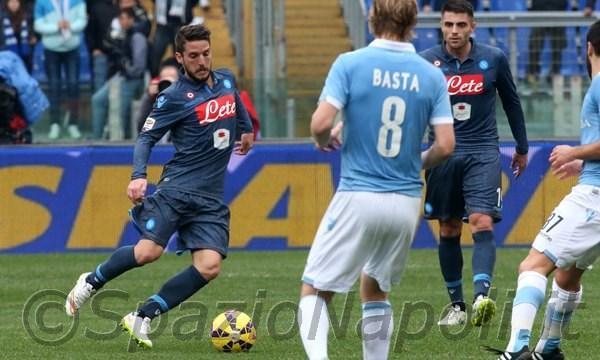 Mertens Lazio Napoli