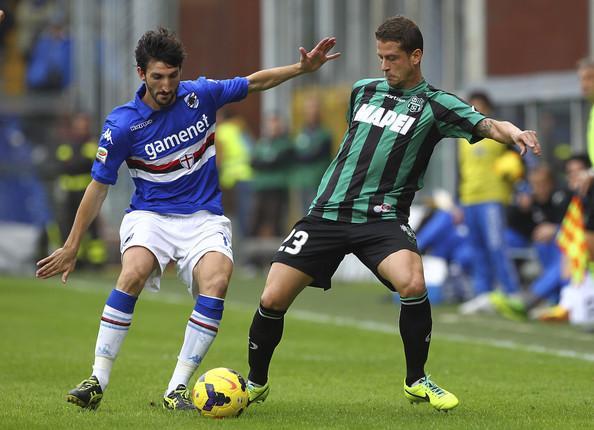 Marcello+Gazzola+UC+Sampdoria+v+Sassuolo+Calcio+VTznDM_C1oel