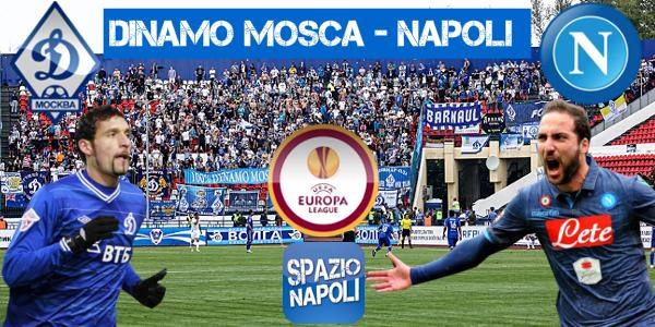 Copertina Dinamo Mosca-Napoli