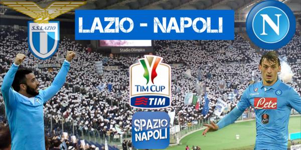 Copertina Lazio-Napoli Coppa Italia